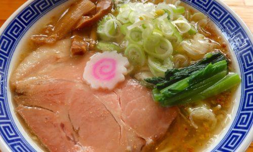 読谷 サバ6製麺所Plusでサバ塩そば