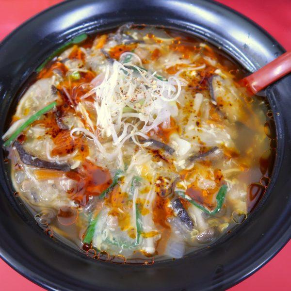 酸辣湯麺(800円)