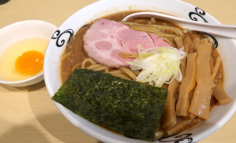 沖縄市 らー麺アオキジ 濃厚熟成醤油らーめん