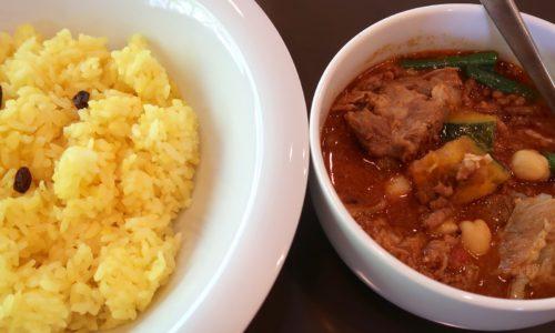 カリータイム カボチャとひよこ豆のキーマカレー