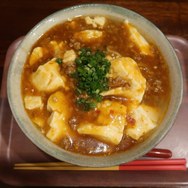 麻婆ゆし豆腐そば・大盛(900円)